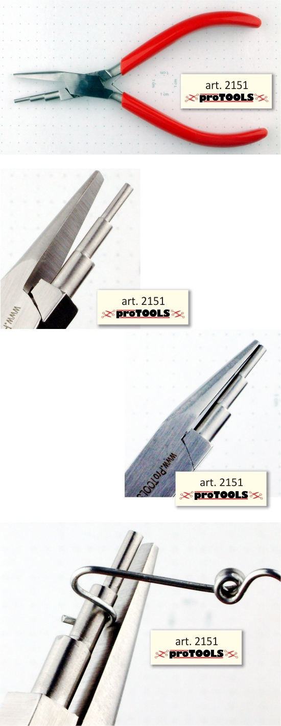proTOOLS Multi Bail Plier - 3 small cylinders